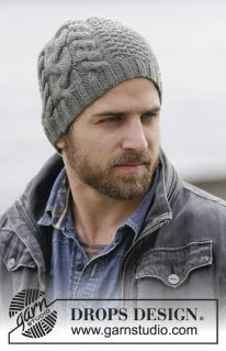 DROPS Extra -0-1133 - Мужская шапка
