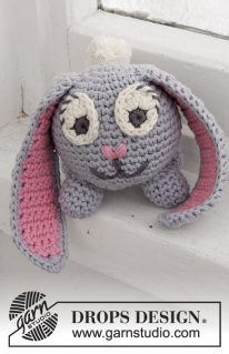 DROPS Extra 0-1251 - Пасхальный кролик Оскар