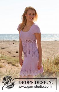 DROPS 148-12 - Летнее платье Emma