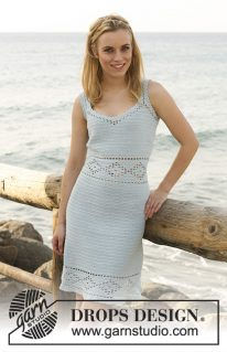 DROPS 120-30 - Платье: Бриллианты на солнце