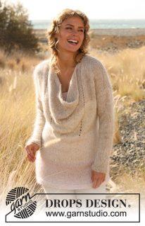 DROPS 127-25 - Оригинальный свитер