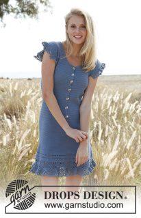 DROPS 145-9 - Платье: Campanula