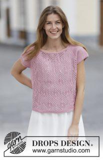DROPS 160-16 - Кофточка Summer Chic