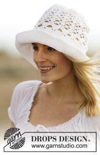 DROPS 162-30 - Шляпа Летняя мечта