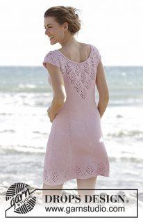 DROPS 167-1 - Платье «Свидание на пляже»