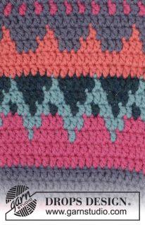 DROPS 172-16 - Носки: Красочная зима