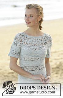 DROPS 175-30 - Платье: Grace in Lace