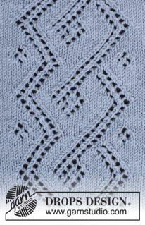 DROPS 177-5 - Джемпер: Кельтский узелок