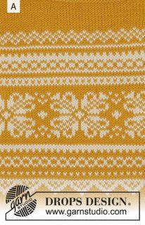 DROPS 179-28 - Джемпер «Vintermys»