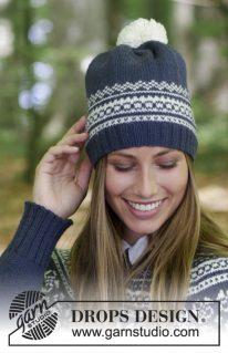 DROPS 181-11 - Лофотенская шапка