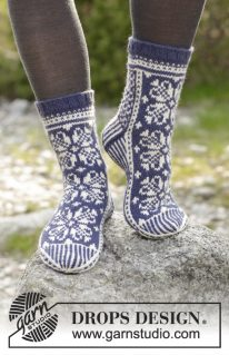 DROPS 181-12 - Лофотенские носочки