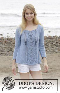 DROPS 186-14 - Пуловер: Key West