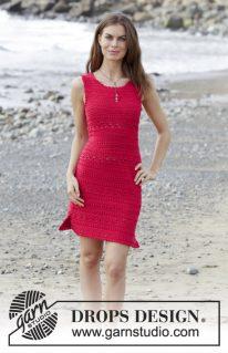 DROPS 187-5 - Платье: Белладонна