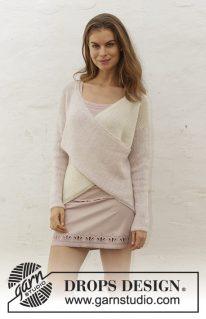 DROPS 188-10 - Пуловер: Свит Твист
