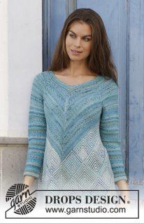 DROPS 188-15 - Пуловер: Atlantis