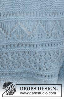 DROPS 188-21 - Пуловер: Матрос