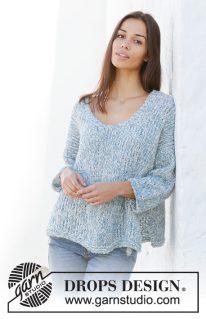 DROPS 199-32 - Пуловер: Ранняя пташка