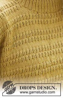 DROPS 215-18 - Джемпер «Mustard Seeds»