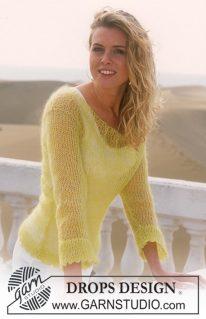 DROPS 88-23 - Воздушный пуловер