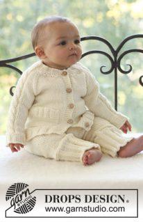 DROPS Baby-18-4 - Костюм «Vanilla Sprite»