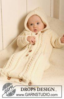 DROPS Baby 19-10 - Спальный мешок для крошки