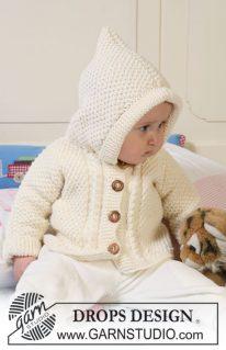 DROPS Baby 19-5 - Курточка рисом для малыша