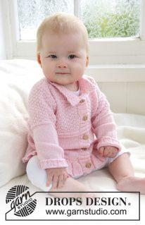 DROPS Baby-21-14 - Жакет Lea