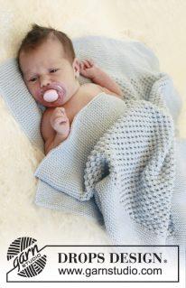 DROPS Baby 21-38 - Ежевичное одеяло: Мешочек счастья