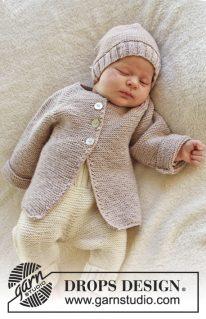 DROPS baby 25-33 - Жакет: Сладких снов