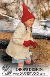 DROPS Children-12-51 - Комплект: Elf Warmers Gloves