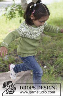 DROPS Children 22-44 - Детский свитер: Starshine