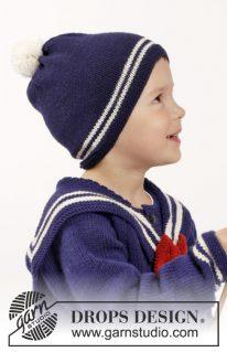 DROPS Children 26-7 - Нарядный комплект для мальчика Sailor Aksel