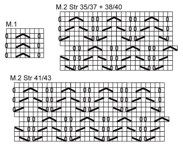 Ажурные носочки - cхема вязания от DROPS DESIGN