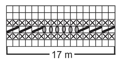 Накидка на плечи с волнообразным узором - cхема вязания от DROPS DESIGN