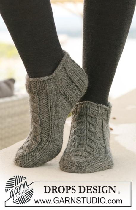 Схема вязания мини-носочка