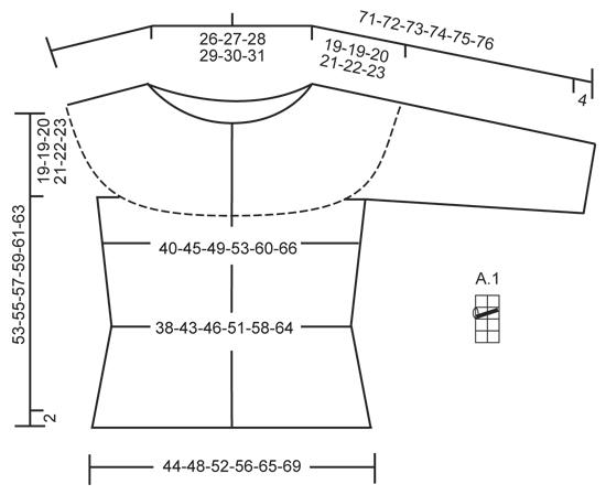 Летний кардиган: Афина - cхема вязания от DROPS DESIGN