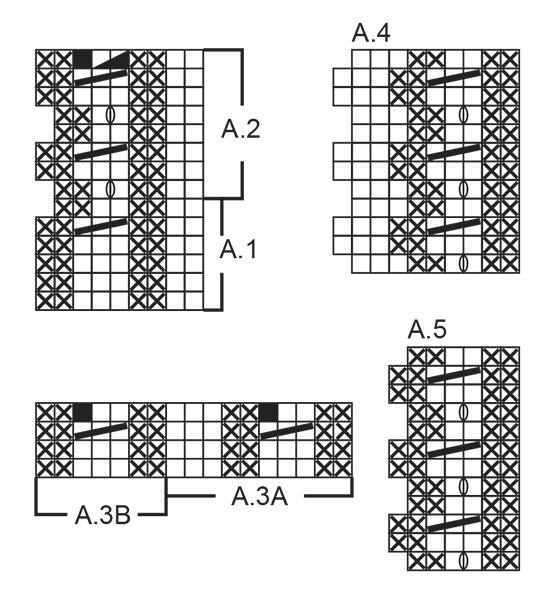 Кофточка: Золотое Цветение - cхема вязания от DROPS DESIGN