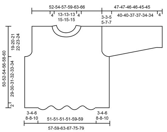 Джемпер: Cathedral Windows - cхема вязания от DROPS DESIGN