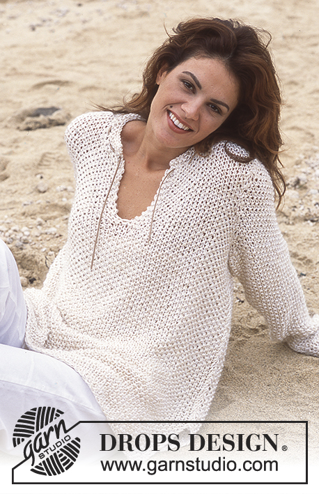 DROPS 78-1 - Пуловер: Красавица