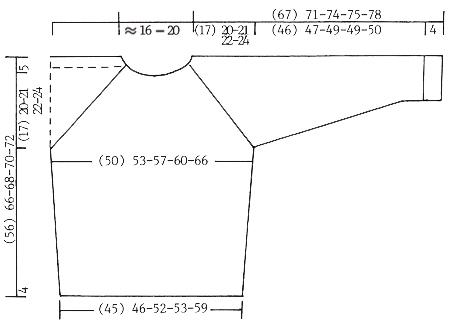 Пуловер мужской и шапка: На море - cхема вязания от DROPS DESIGN