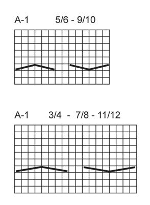 Схема для вязания трико для девочки спицами от DROPS